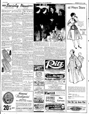 The Courier News from Blytheville, Arkansas on October 9, 1952 · Page 4