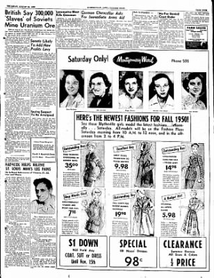 The Courier News from Blytheville, Arkansas on August 24, 1950 · Page 5