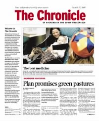 Sample Hackensack Chronicle front page