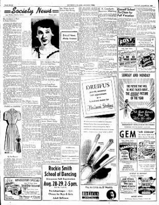 The Courier News from Blytheville, Arkansas on August 25, 1950 · Page 4