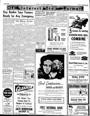 The Courier News from Blytheville, Arkansas on August 25, 1950 · Page 8