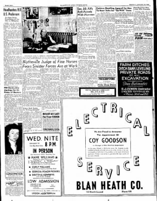 The Courier News from Blytheville, Arkansas on January 16, 1950 · Page 2