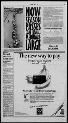 The Vancouver Sun from Vancouver, British Columbia, Canada on September 18, 1992 · 9
