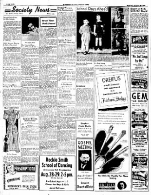 The Courier News from Blytheville, Arkansas on August 28, 1950 · Page 4