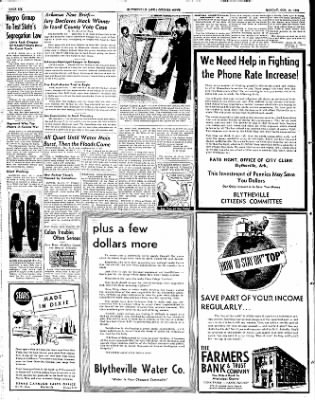 The Courier News from Blytheville, Arkansas on October 13, 1952 · Page 6