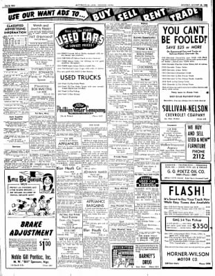 The Courier News from Blytheville, Arkansas on August 28, 1950 · Page 10