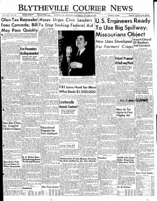 The Courier News from Blytheville, Arkansas on January 18, 1950 · Page 1