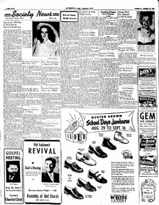 The Courier News from Blytheville, Arkansas on August 29, 1950 · Page 4