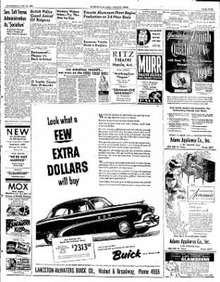 The Courier News from Blytheville, Arkansas on October 15, 1952 · Page 2
