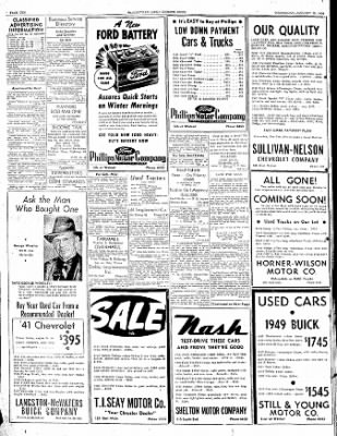 The Courier News from Blytheville, Arkansas on January 18, 1950 · Page 10