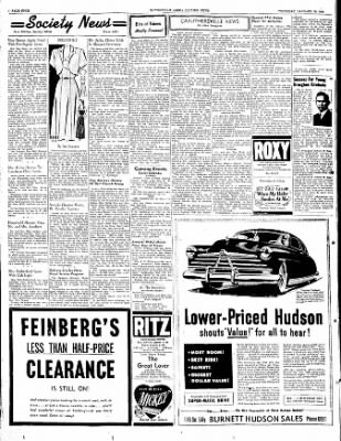 The Courier News from Blytheville, Arkansas on January 19, 1950 · Page 4