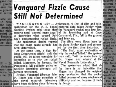 "Clip of the Day: ""Embarrassing Rocket Fizzle"" Still Unexplained"