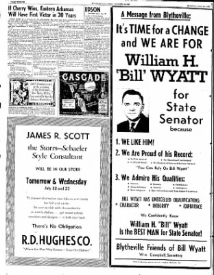 The Courier News from Blytheville, Arkansas on July 21, 1952 · Page 12