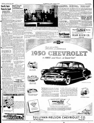 The Courier News from Blytheville, Arkansas on January 20, 1950 · Page 7