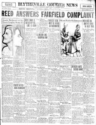 The Courier News from Blytheville, Arkansas on June 8, 1931 · Page 1