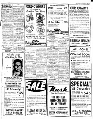 The Courier News from Blytheville, Arkansas on January 21, 1950 · Page 7