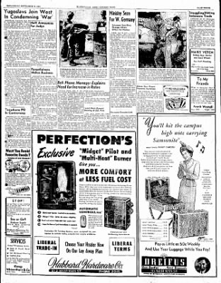The Courier News from Blytheville, Arkansas on September 6, 1950 · Page 2
