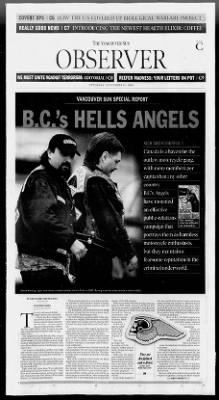 The Vancouver Sun from Vancouver, British Columbia, Canada