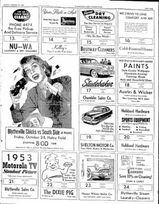 The Courier News from Blytheville, Arkansas on October 20, 1952 · Page 5