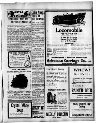 Evening Bulletin from Honolulu, Hawaii on December 9, 1911 · Page 19