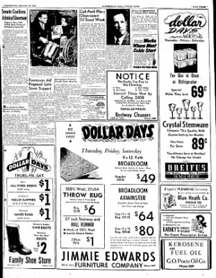 The Courier News from Blytheville, Arkansas on January 25, 1950 · Page 3