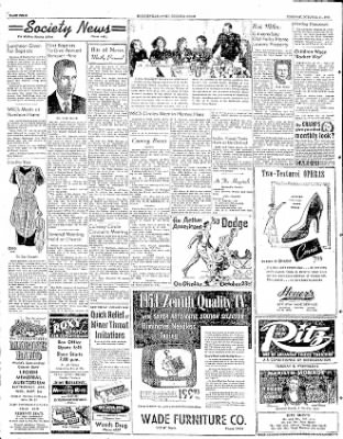 The Courier News from ,  on October 21, 1952 · Page 4