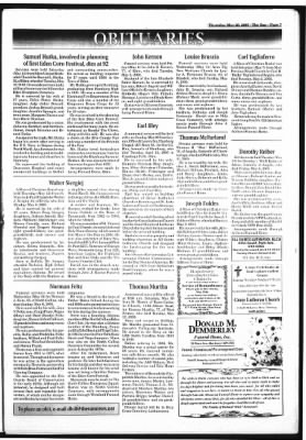 The Sun And Erie County Independent From Hamburg New York On May 26 2005 Page 7