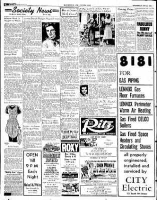 The Courier News from Blytheville, Arkansas on October 22, 1952 · Page 4