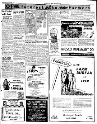 The Courier News from Blytheville, Arkansas on January 27, 1950 · Page 9