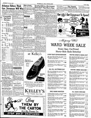The Courier News from Blytheville, Arkansas on October 23, 1952 · Page 9
