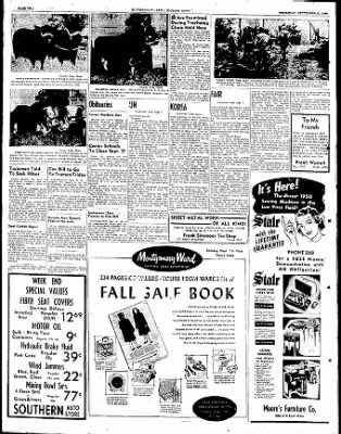 The Courier News from Blytheville, Arkansas on September 21, 1950 · Page 2