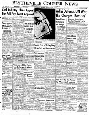 The Courier News from Blytheville, Arkansas on October 24, 1952 · Page 1