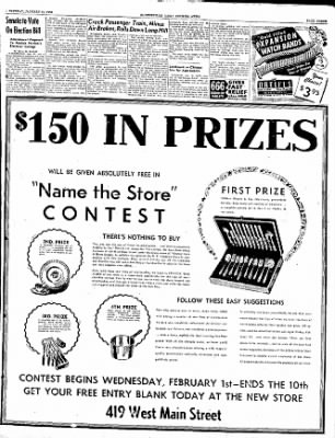 The Courier News from Blytheville, Arkansas on January 31, 1950 · Page 3