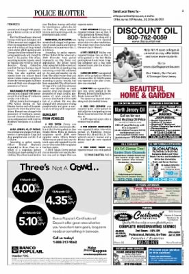 Clifton Journal from Clifton, New Jersey on October 17, 2008