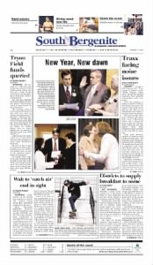 Sample South Bergenite front page