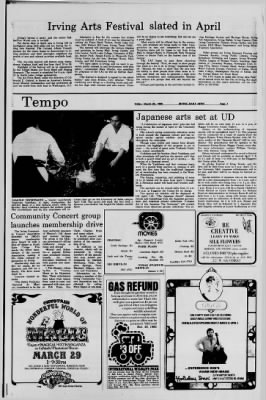Irving Daily News from Irving, Texas on March 28, 1980 · Page 3