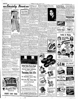 The Courier News from Blytheville, Arkansas on September 22, 1950 · Page 4