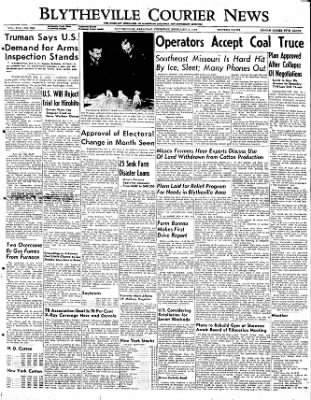The Courier News from Blytheville, Arkansas on February 2, 1950 · Page 1