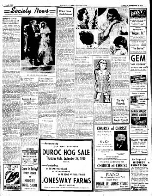 The Courier News from Blytheville, Arkansas on September 23, 1950 · Page 2