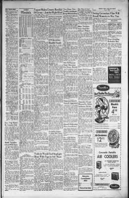 Fremont Tribune From Fremont Nebraska On June 2 1953 11