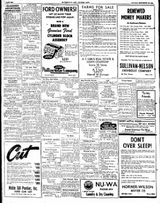 The Courier News from Blytheville, Arkansas on September 25, 1950 · Page 10