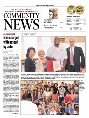 Community News from Lodi, New Jersey on July 25, 2013 · A1