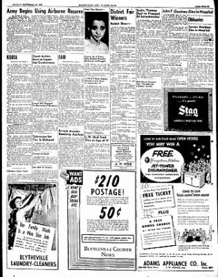 The Courier News from Blytheville, Arkansas on September 25, 1950 · Page 12