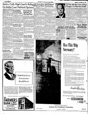 The Courier News from Blytheville, Arkansas on October 27, 1952 · Page 12