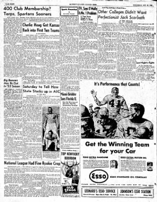 The Courier News from Blytheville, Arkansas on October 29, 1952 · Page 8