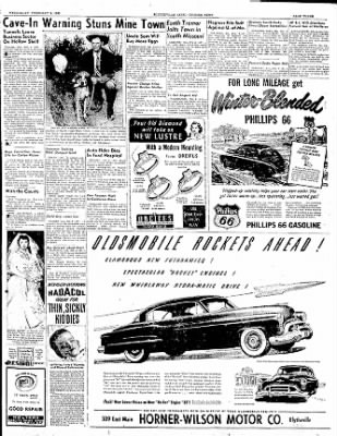 The Courier News from Blytheville, Arkansas on February 8, 1950 · Page 3