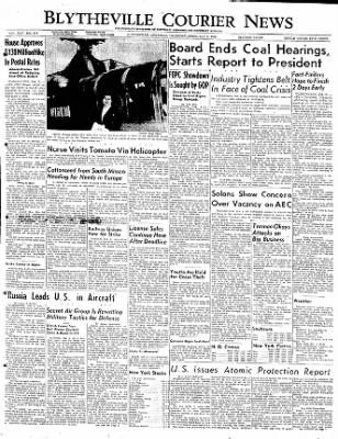 The Courier News from Blytheville, Arkansas on February 9, 1950 · Page 1