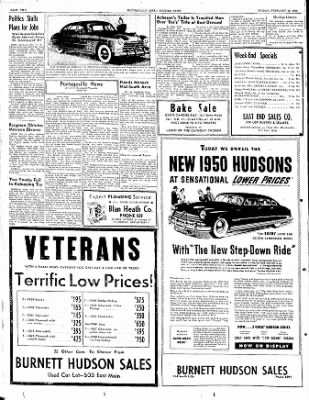The Courier News from Blytheville, Arkansas on February 10, 1950 · Page 2