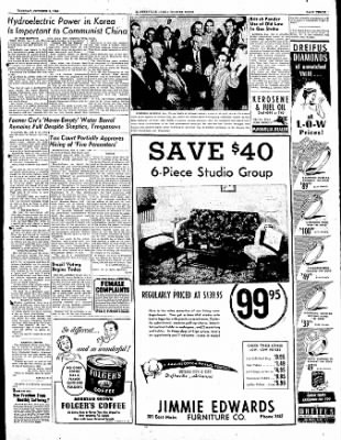 The Courier News from Blytheville, Arkansas on October 3, 1950 · Page 3