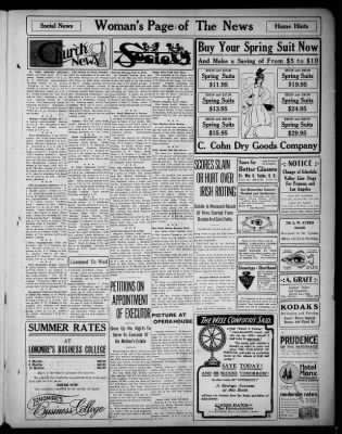 San Bernardino News from San Bernardino, California on April 29, 1916 · Page 5